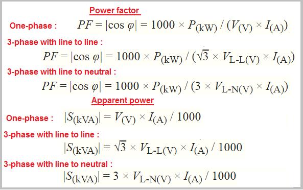 kva to kw formula pdf