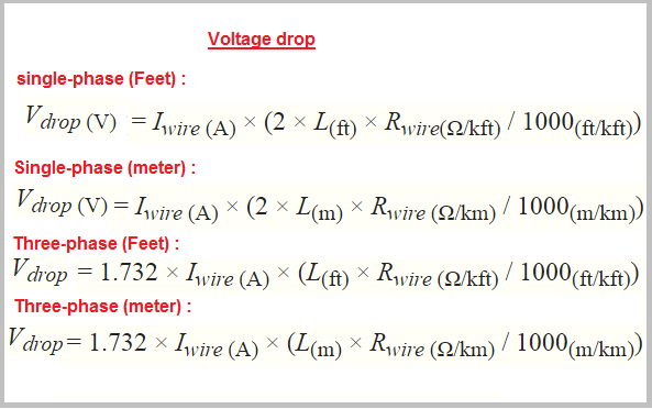 Copper Electrical Wire >> Electrical Engineers online calculator with formula