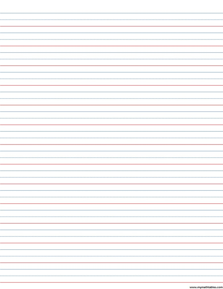 Wonderful Download In JPG Regarding Blank Writing Sheet